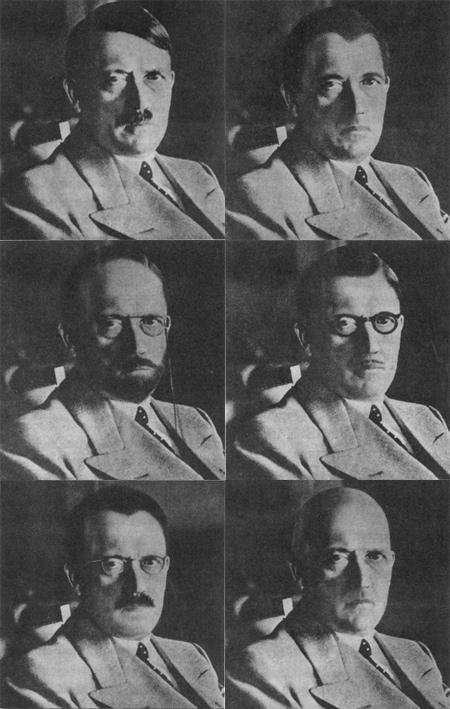 Hitlers mögliche Verkleidungen